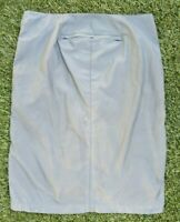Vintage Diesel Style Lab Nylon Zip Front Pencil Skirt Made In Italy Size 29