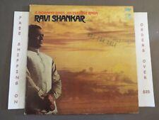RAVI SHANKAR A MORNING RAGA/AN EVENING RAGA 1ST PRESS PROMO 1968 LP WPS-21464