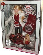 Hannah Montana Holiday Pop Star 2008 Silver Edition NIB Miley Cyrus Barbie Doll