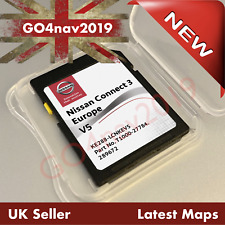 LATEST NISSAN CONNECT 3 V5 LCN3 SD CARD MAP NAVIGATION MAP UK EUROPE 2020 - 2021
