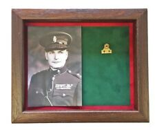 Medium RUC Medal Display Case With Photograph For 1 Medal