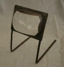 Small Vintage 1950s Television TV Magnifier Enlarger