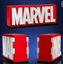 Marvel Logo Bookends - Gentle Giant Studios Statue Book End Set Brand New