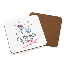 All you need is love chaussures neuves Dessous De Verre