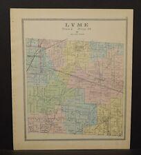 Ohio Huron County Lyme Township 1891  !Y14#88