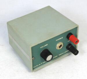 Vintage Heathkit HD-1416 Code Oscillator