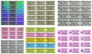 Personalised Name Stickers Vinyl Tag / Label, 3.0 X 1.5 CM, Waterproof