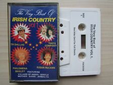 VARIOUS, THE VERY BEST OF IRISH COUNTRY VOL.1 CASSETTE TAPE, RARE, TESTED