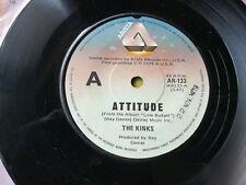 THE KINKS-ATTITUDE.7'' SINGLE