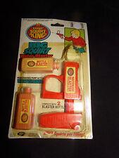 WATER GUN GORDY SQUIRT KING WATERGUN Blaster New on Card Vtg 1986 Toy Pistol