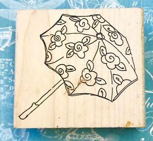 FLOWER SUNBRELLA umbrella rain raining drops parapluie botanical printworks rare