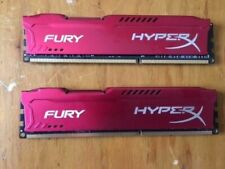 Kingston 16GB(2x8GB) HX318C10FRK2/16 FURY Red HyperX DDR3-1866/PC3-14900 *test*