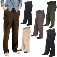 Gents Cotton Corduroy Cord Formal Pant Trousers Mens Casual Wear Corduroy Pants
