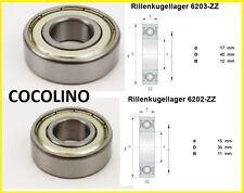 Lager Rillenkugellager Kart Kugellager 6202 / 6203 ZZ  bearing roulement felgen