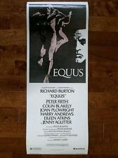 PETER FIRTH RICHARD BURTON GAY INTEREST ORIG EQUUS UNUSED MOVIE POSTER INSERT