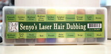 Senyo´s LASER HAIR 20 Farben! Dubbing Dispenser Hareline Laser Hair 20 Dub Box