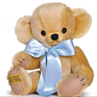 Merrythought 10 Inch Traditional Cheeky Teddy Bear in Gold Mohair from US Seller