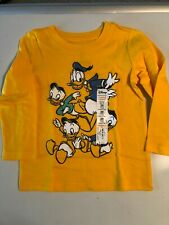 Boys 24 Months Long Sleeve Disney Jumping Beans T Shirt Donald Duck & Nephews