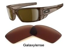 c4c5c959df5 Galaxy Replacement Lenses For Oakley Sunglasses Fuel Cell Brown Color 100%  UVAB