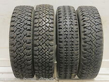 4 16513 Chunky Winter Snow 165 13 Used Part Worn Tyres x4 Metal Studded Stud