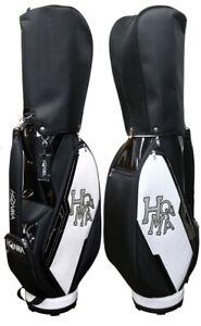 HONMA GOLF Caddy Bag CB-52008 New 2021 Dancing HONMA CART BAG Black/White
