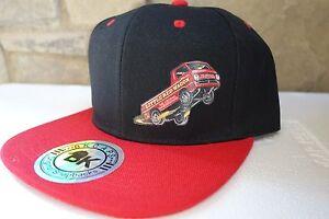 Little Red Wagon Wheelstander Cap Hat NHRA Drag Racing Mopar Dodge A-100 PickUp