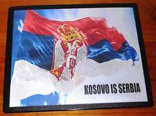 Kosovo is Serbia Kocobo je Srbija patriotic Serb flag mouse mat