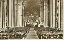 s06283 Cathedral, Bristol, England RP postcard unposted