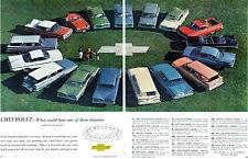 1959 Chevrolet EL CAMINO Nomad BROOKWOOD Biscayne IMPALA Corvette BEL AIR Big Ad