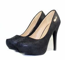 """DY-YG-08 New Party wedding Prom Pumps Stiletto 5"""" High Heel Women Shoes Black"""