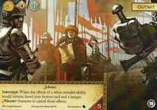 Outwit Game of Thrones Card aGoT FFG Promo LCG