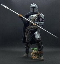 The Mandalorian Beskar Spear Unpainted Black Series 1/12 Scale