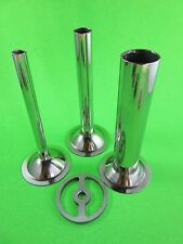 Sausage Stuffer Kit for Chefs Choice meat grinder for Kitchenaid Mixers 4 pc.