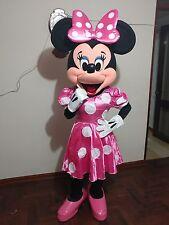 Disfraz ( costume, botargas, mascot) HERMOSA MINNIE PINK DELUXE 2 TRAJE ADULTO
