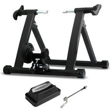 Folding Indoor Bike Bicycle Magnetic Turbo Trainer Exercise Fitness Training UK