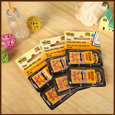 """Sign Here"" ""Message Flags"" ""Sticky Flags"" 25mm Twin Pack 100 Removable Sticky"