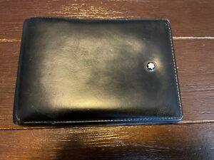 Montblanc 14548 Meisterstuck Leather Wallet - Black