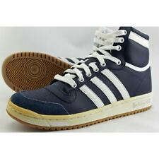 Scarpe sneakers blu in pelle per bambini dai 2 ai 16 anni