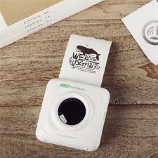 Black and White Phone Printer Portable Bluetooth4.0 Wireless Photo Printer