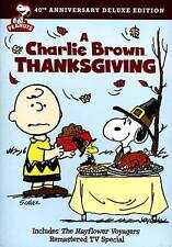 A Charlie Brown Thanksgiving (DVD, 2013, 40th Anniversary) New SEALED