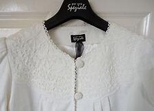 Per Una Speziale Pure Cotton Ivory SZ 20 Cornelli Jacket, BNWT, Was £79