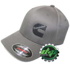 Dodge Cummins hat ball cap fitted flex fit flexfit stretch dark gray grey S/M