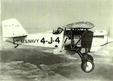 WWII F6C-3 U.S. NAVY 4-J-4 BIPLANE AIRPLANE  IN FLIGHT: 5 X 7 B & W PHOTOGRAPH