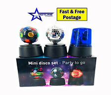 New Mini Disco Lights Set LED Disco Stage Lighting Ball Crystal Magic Home Party
