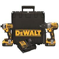 Brand New Dewalt DCK299P2 20V Cordless Brushless Combo Kit 2 5.0Ah DCD996 DCF887
