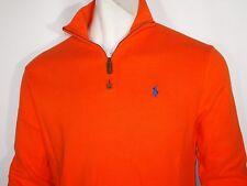 Polo Ralph Lauren half zipper mock neck men's sweater size XL