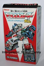 1986 Transformers Japan Kabaya Fort Max Kit Action Figure Fortress Maximus Boxed