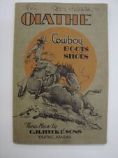 HYER, CH & SONS Catalog: Olathe Cowboy Boots and Shoes - Handmade Kansas