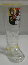 TOP **Bierstiefel Glasstiefel Saufstiefel Party-Gag=Hohenstein-Ernstthal Wappen