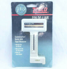 Zebco 228 De-Liar Combination Scale & Tape Measure Deliar